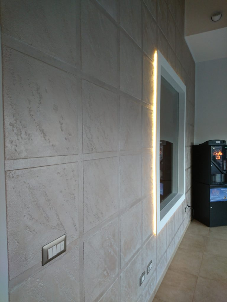Illuminazione murarie